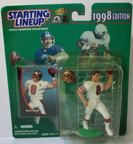 (TAS021076) - Starting Lineup 1998 Edition - Steve Young San Francisco 49ers, , Action Figure, Starting Lineup, The Angry Spider Vintage Toys & Collectibles Store  - 1