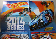 (TAS021079) - Hot Wheels 2014 Series Poster 2/4, , Cars, Hot Wheels, The Angry Spider Vintage Toys & Collectibles Store  - 2
