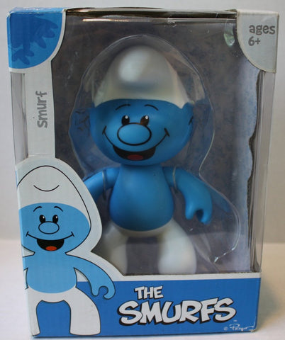 "(TAS021081) - The Smurfs ""Smurf"" Collectible Figurine, , Action Figure, JAKKS Pacific, The Angry Spider Vintage Toys & Collectibles Store  - 1"