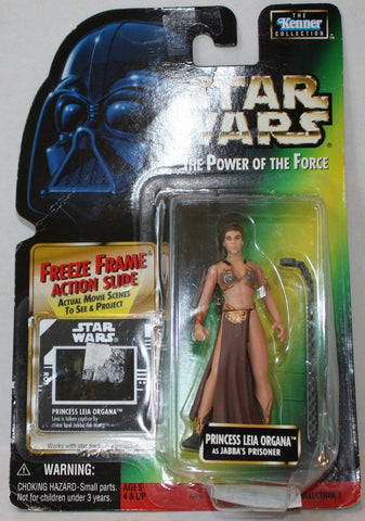 "(TAS021082) - 1997 Star Wars The Power of the Force ""Princess Leia Organa"", , Action Figure, Kenner, The Angry Spider Vintage Toys & Collectibles Store  - 1"
