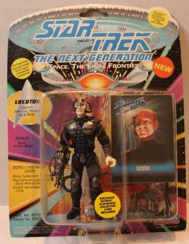 "(TAS021086) - Star Trek Next Generation - ""Locutus"" Capt. Picard as a Borg, , Action Figure, Playmates, The Angry Spider Vintage Toys & Collectibles Store  - 1"