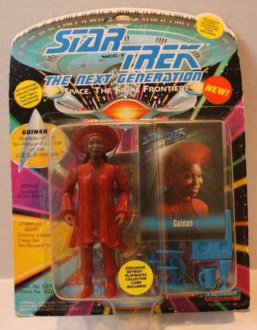 "(TAS021087) - Star Trek Next Generation - ""Guinan"", , Action Figure, Playmates, The Angry Spider Vintage Toys & Collectibles Store  - 1"