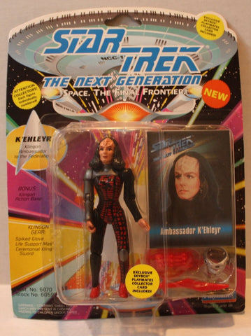 "(TAS021090) - Star Trek Next Generation ""K'Ehleyr"", , Action Figure, Playmates, The Angry Spider Vintage Toys & Collectibles Store  - 1"