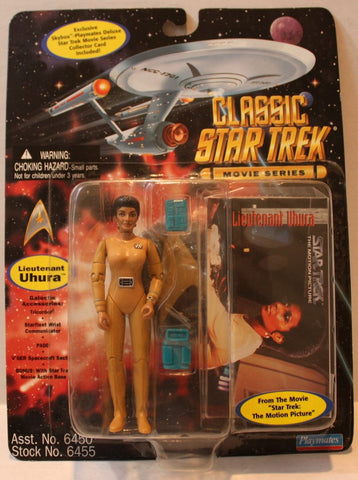 "(TAS021092) - Star Trek Classic Movie Series ""Lt. Uhura"", , Action Figure, Playmates, The Angry Spider Vintage Toys & Collectibles Store  - 1"