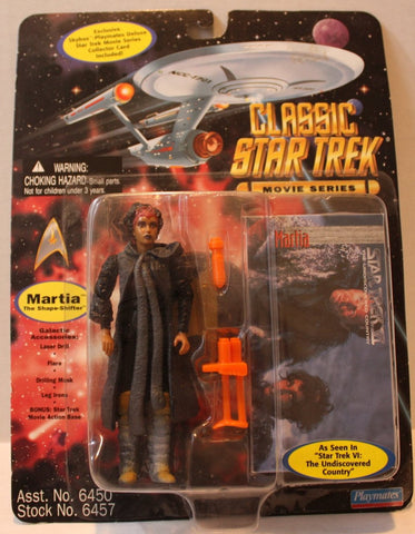 "(TAS021093) - Star Trek Classic Movie Series ""Martia The Shape-Shifter"", , Action Figure, Playmates, The Angry Spider Vintage Toys & Collectibles Store  - 1"