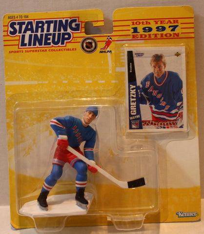 "(TAS021101) - Starting Lineup 1997 10th Year Edition ""Wayne Gretzky"", , Action Figure, Starting Lineup, The Angry Spider Vintage Toys & Collectibles Store  - 1"