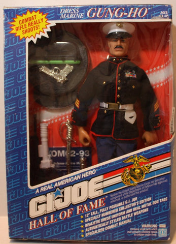 "(TAS021107) - GI Joe Hall of Fame Dress Marine Gung Ho - 12"" Figure, , Action Figure, G.I. Joe, The Angry Spider Vintage Toys & Collectibles Store  - 1"