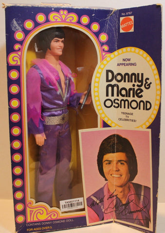 (TAS021114) - Vintage 1976 Donny Osmond Doll In Box Mattel, , Action Figure, Mattel, The Angry Spider Vintage Toys & Collectibles Store  - 1