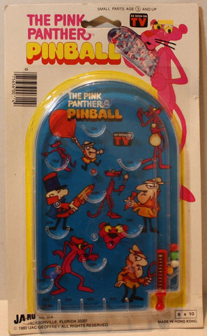 (TAS021122) - JA-RU The Pink Panther Pinball Game, , Game, JA-RU, The Angry Spider Vintage Toys & Collectibles Store  - 1