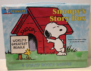 (TAS021123) - Peanuts Soopy's Story Box w/4 Board Books, , Books, Peanuts, The Angry Spider Vintage Toys & Collectibles Store  - 1