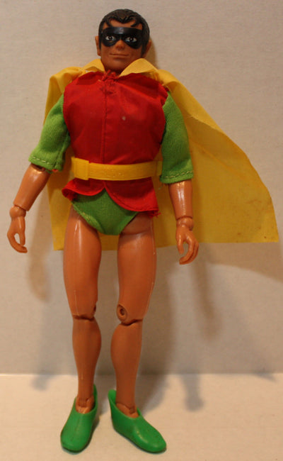 (TAS021124) - MEGO Robin Doll Action Figure BATMAN, 1974, , Dolls, MEGO, The Angry Spider Vintage Toys & Collectibles Store  - 1