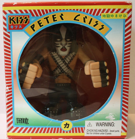 (TAS021130) - KISS Peter Criss Hotter Than Hell Gruntz, , Action Figure, Gruntz, The Angry Spider Vintage Toys & Collectibles Store  - 1