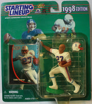 "(TAS021133) - Starting Lineup NFL ""Eddie George"" 1998 Edition - Oilers, , Action Figure, Starting Lineup, The Angry Spider Vintage Toys & Collectibles Store  - 1"