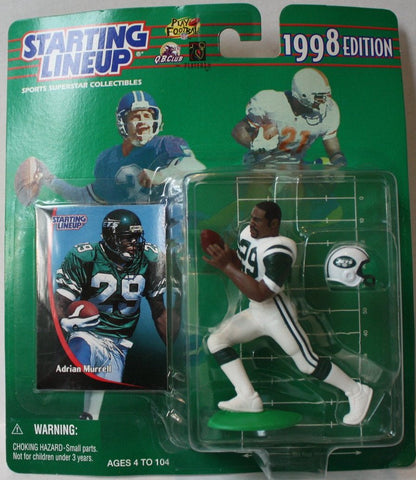 "(TAS021137) - Starting Lineup NFL ""Adrian Murrell"" 1998 Edition - Jets, , Action Figure, Starting Lineup, The Angry Spider Vintage Toys & Collectibles Store  - 1"