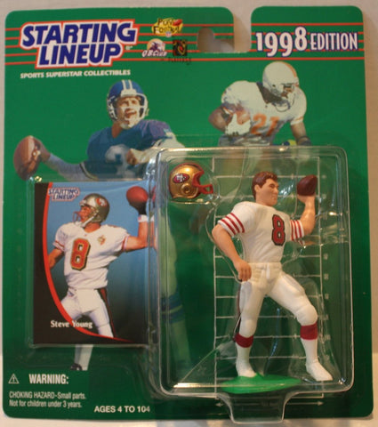 "(TAS021143) - Starting Lineup NFL ""Steve Young"" 1998 Edition - 49ers, , Action Figure, Starting Lineup, The Angry Spider Vintage Toys & Collectibles Store  - 1"