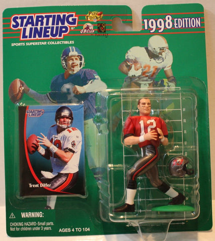 "(TAS021144) - Starting Lineup NFL ""Trent Dilfer"" 1998 Edition - Buccaneers, , Action Figure, Starting Lineup, The Angry Spider Vintage Toys & Collectibles Store  - 1"