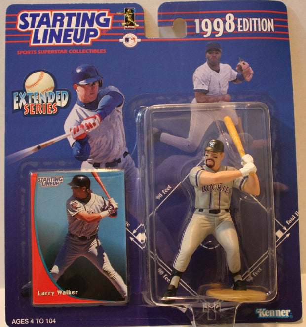 "(TAS021149) - Starting Lineup MLB ""Larry Walker"" 1998 Edition - Rockies, , Action Figure, Starting Lineup, The Angry Spider Vintage Toys & Collectibles Store  - 1"