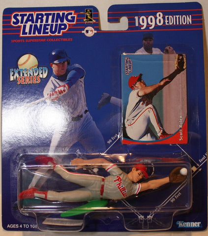 "(TAS021153) - Starting Lineup MLB ""Scott Rolen"" 1998 Edition - Phillies, , Action Figure, Starting Lineup, The Angry Spider Vintage Toys & Collectibles Store  - 1"
