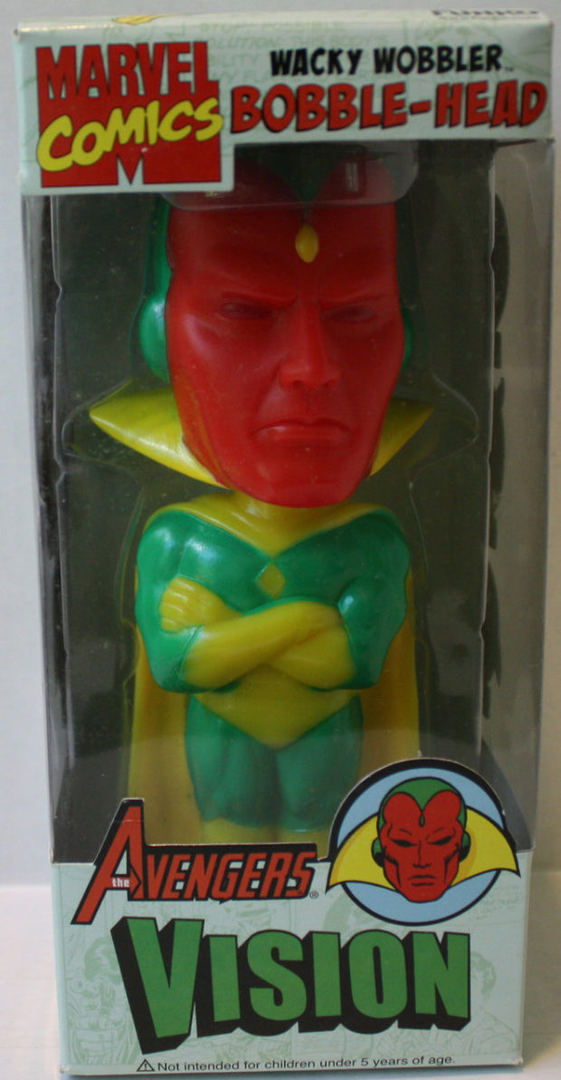 "(TAS021177) - Funko Avengers ""Vision"" Bobble Head, , Bobble Head, Funko, The Angry Spider Vintage Toys & Collectibles Store  - 1"
