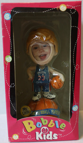 (TAS021201) - Bobble Kids My Little Basketball Player Bobble Head, , Bobble Head, n/a, The Angry Spider Vintage Toys & Collectibles Store  - 1
