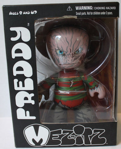 "(TAS021206) - Mezco Mez-Itz ""Freddy Kreuger"" Vinyl Figure, , Action Figure, Mezco, The Angry Spider Vintage Toys & Collectibles Store  - 1"