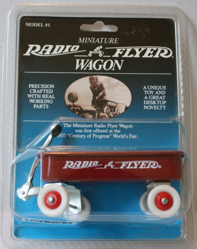 Tas021210 Miniature Radio Flyer Wagon Model 1 The Angry Spider Vintage Toys Collectibles Store