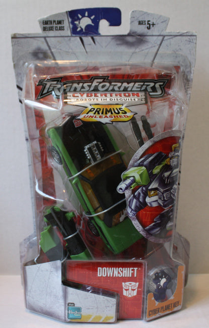 "(TAS021211) - Transformers Cybertron Robots in Disguise ""Downshift"", , Action Figure, Transformers, The Angry Spider Vintage Toys & Collectibles Store  - 1"