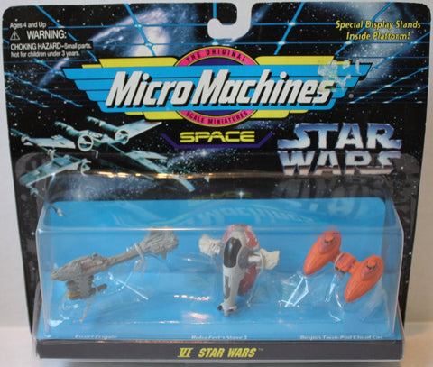 (TAS021214) - MicroMachines Space - Star Wars Collection VI, , Action Figure, Star Wars, The Angry Spider Vintage Toys & Collectibles Store  - 1