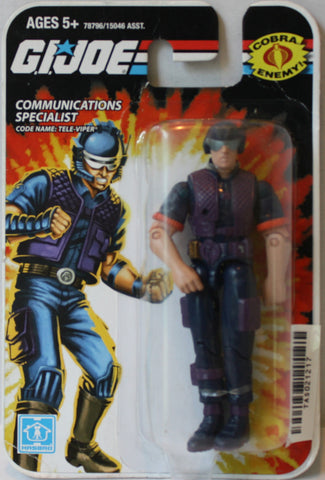 "(TAS021217) - 2008 Hasbro G.I. Joe Communications Specialist ""Tele-Viper"", , Action Figure, G.I. Joe, The Angry Spider Vintage Toys & Collectibles Store  - 1"
