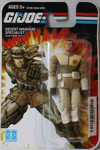 "(TAS021218) - 2008 Hasbro G.I. Joe Desert Warfare Specialist ""Dusty"", , Action Figure, G.I. Joe, The Angry Spider Vintage Toys & Collectibles Store  - 1"