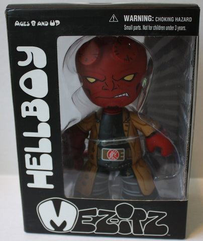 "(TAS021244) - Mezco Mez-Itz ""Hellboy"" Vinyl Figure, , Action Figure, Mezco, The Angry Spider Vintage Toys & Collectibles Store  - 1"