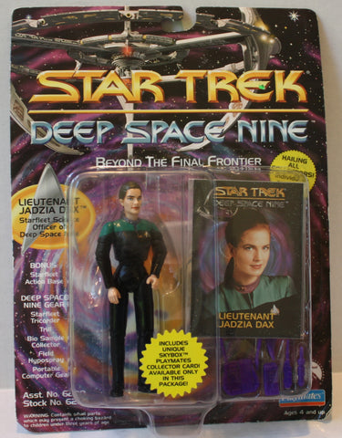 "(TAS021251) - Playmates Star Trek: Deep Space Nine ""Lt. Jadzia Dax"", , Action Figure, Star Trek, The Angry Spider Vintage Toys & Collectibles Store  - 1"