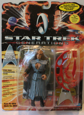"(TAS021256) - Playmates Star Trek Generations: ""Lursa"", , Action Figure, Star Trek, The Angry Spider Vintage Toys & Collectibles Store  - 1"