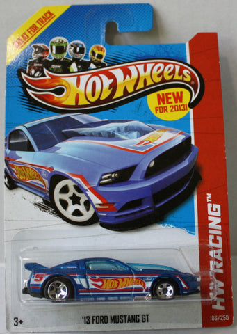 (TAS021301) - Hot Wheels Die-Cast 2013 Ford Mustang GT - 106/250, , Cars, Hot Wheels, The Angry Spider Vintage Toys & Collectibles Store  - 1