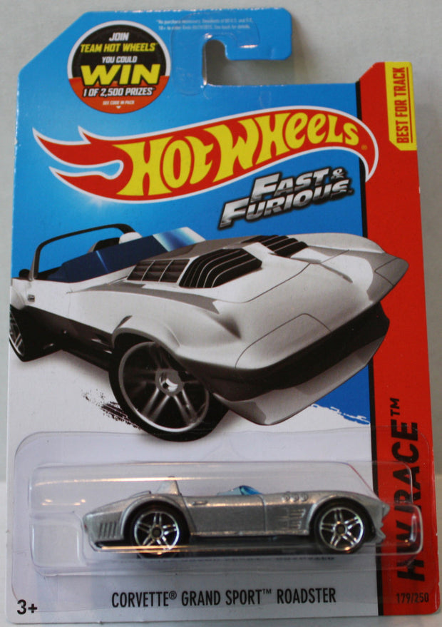 Tas021312 2015 Hot Wheels Corvette Grand Sport Roadster The Angry Spider Vintage Toys Collectibles Store