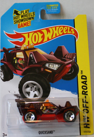 (TAS021319) - 2014 Hot Wheels Die-Cast Off-Road - Quicksand, , Cars, Hot Wheels, The Angry Spider Vintage Toys & Collectibles Store  - 1