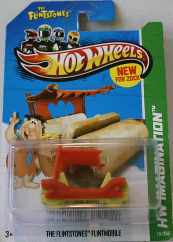 (TAS021328) - HW Imagination 2013 - The Flintstones Flintmobile - 70/250, , Cars, Hot Wheels, The Angry Spider Vintage Toys & Collectibles Store  - 1