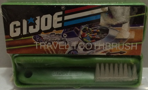 (TAS031187) - G.I. Joe Travel Toothbrush, , Bath, G.I. Joe, The Angry Spider Vintage Toys & Collectibles Store
