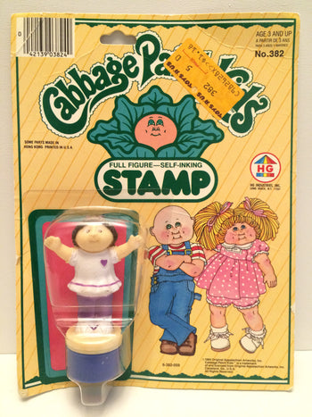 (TAS031423) - 1984 HG Toys Cabbage Patch Kids Full Figure Self Inking Stamp - The Angry Spider Vintage Toys & Collectibles Store  - 1