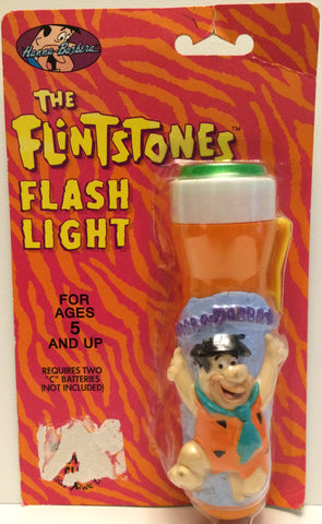 (TAS031448) - 1992 Hanna-Barbera The Flintstones Flash Light, , Flashlight, The Flintstones, The Angry Spider Vintage Toys & Collectibles Store  - 1