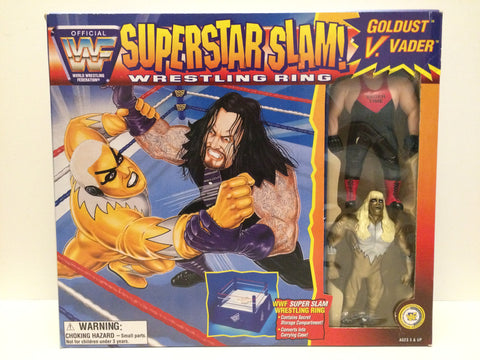 (TAS031457) - 1996 Just Toys Titan Sports WWF WWE SuperStar Slam Bend-Ems, , Action Figure, Wrestling, The Angry Spider Vintage Toys & Collectibles Store  - 1