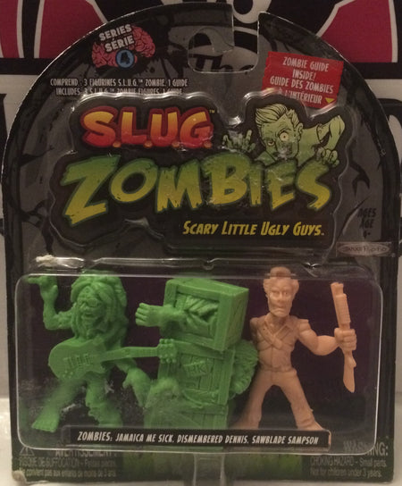 (TAS031732) - Hasbro S.L.U.G. Zombies - Scary Little Ugly Guys - Halloween, , Action Figure, Hasbro, The Angry Spider Vintage Toys & Collectibles Store