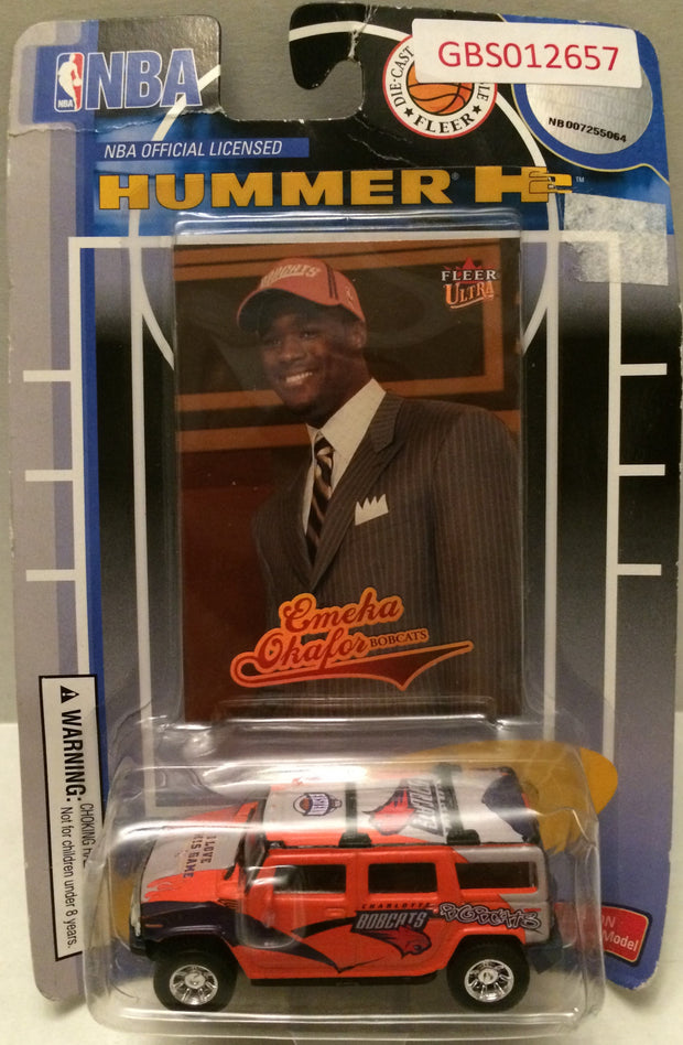 (TAS031738) - NBA Hummer H2 - Emela Okafor - Bobcats, , Cars, NBA, The Angry Spider Vintage Toys & Collectibles Store