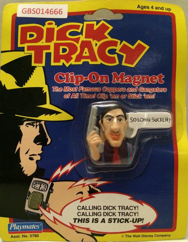 "(TAS031747) - Playmates - Dick Tracy Clip-On Magnet - Al ""Big Boy"" Caprice, , Magnet, Dick Tracy, The Angry Spider Vintage Toys & Collectibles Store"