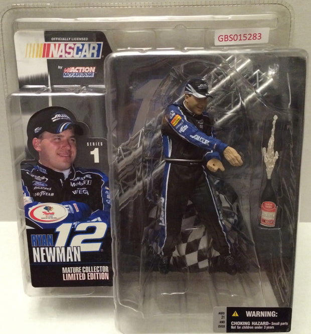 (TAS031750) - Action McFarlane Nascar - Ryan Newman #12 Alltel, , Action Figure, Nascar, The Angry Spider Vintage Toys & Collectibles Store