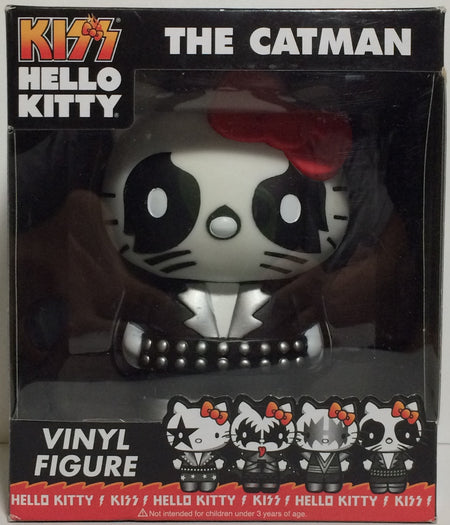 (TAS031753) - Kiss Hello Kitty Vinyl Figure / Bobble Head - The Catman, , Bobblehead, Hello Kitty, The Angry Spider Vintage Toys & Collectibles Store  - 1