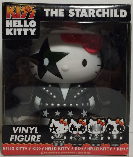 (TAS031754) - Kiss Hello Kitty Vinyl Figure / Bobble Head - The Starchild, , Bobblehead, Hello Kitty, The Angry Spider Vintage Toys & Collectibles Store  - 1