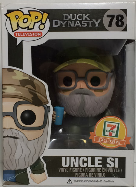 (TAS031759) - Pop! Vinyl Figure Bobble Head - Duck Dynasty Uncle Si #78, , Bobblehead, Pop!, The Angry Spider Vintage Toys & Collectibles Store  - 1