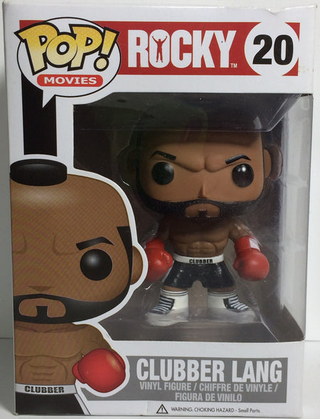 (TAS031766) - Pop! Movies Vinyl Figure Bobble Head - Rocky Clubber Lang #20, , Bobblehead, Pop!, The Angry Spider Vintage Toys & Collectibles Store  - 1