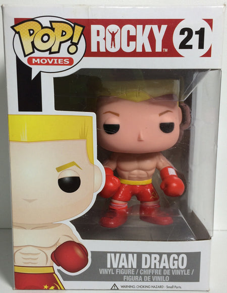 (TAS031770) - Pop! Movies Vinyl Figure Bobble Head - Rocky Ivan Drago #21, , Bobblehead, Pop!, The Angry Spider Vintage Toys & Collectibles Store  - 1